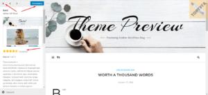 Описание темы для сайта в WordPress
