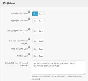 Сжатие CSS - плагин Clearfy