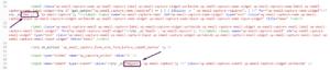Как исправить текст формы подписки на рассылку в коде плагина