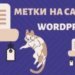 Как присваивать метки статьям на сайте в WordPress