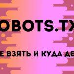 Где взять файл robots.txt