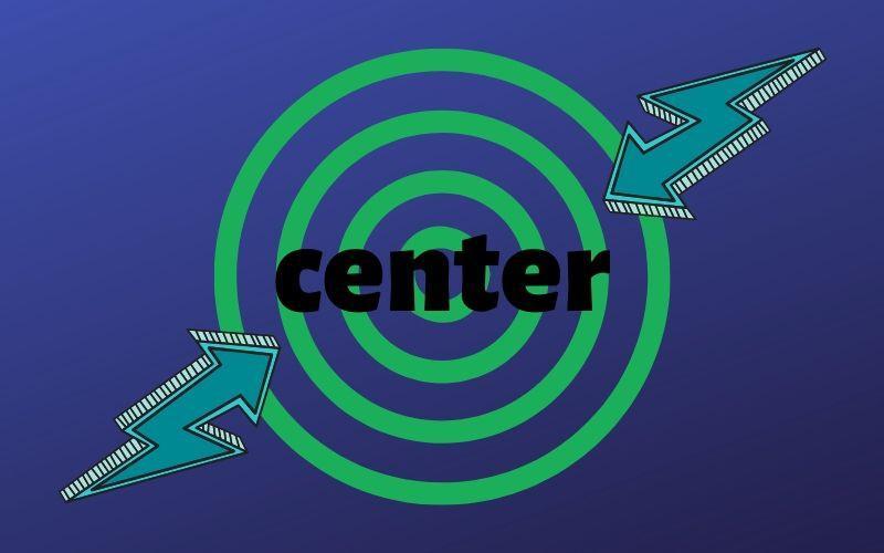 Ошибка - Устарел тег . Что делать и чем заменить атрибут центрирования?