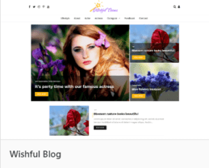 Wishful Blog - тема WordPress