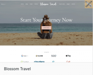 Blossom Travel - тема сайта Вордпресс