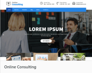 Online Consulting - Вордпресс темы для блога