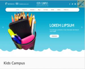 Kids Campus - тема Вордпресс