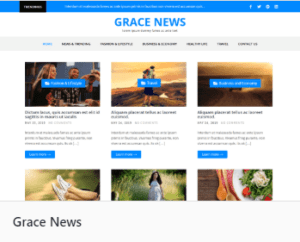 Grace News - темы WordPress для сайта
