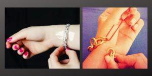 Как самостоятельно застегнуть браслет - лучшие лайфхаки