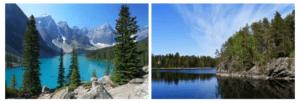 Канада и Финляндия лидеры по количеству озёр