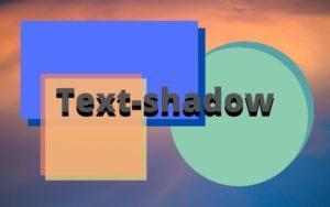 Text-shadow - как применить тень текста CSS на сайте WordPress