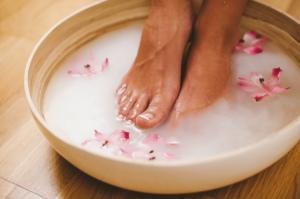 Рецепты красоты - ванночки для ног