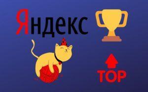 Как быстро вывести в топ Яндекса статьи сайта