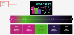 Извлечение градиента Adobe Color для цветовой палитры сайта