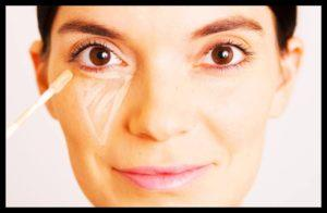 Женские хитрости - как правильно наносить маскирующие средства на лицо и основу под макияж