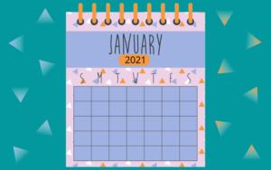 Контент на январь - посты для соцсетей в январские каникулы